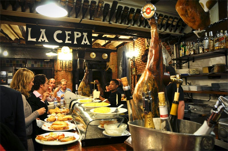 Vamos de tapas por Madrid
