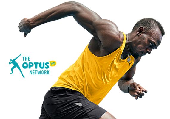 Usain Bolt nuevo embajador de Optus