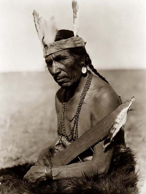 Blackfoot Indian Warrior