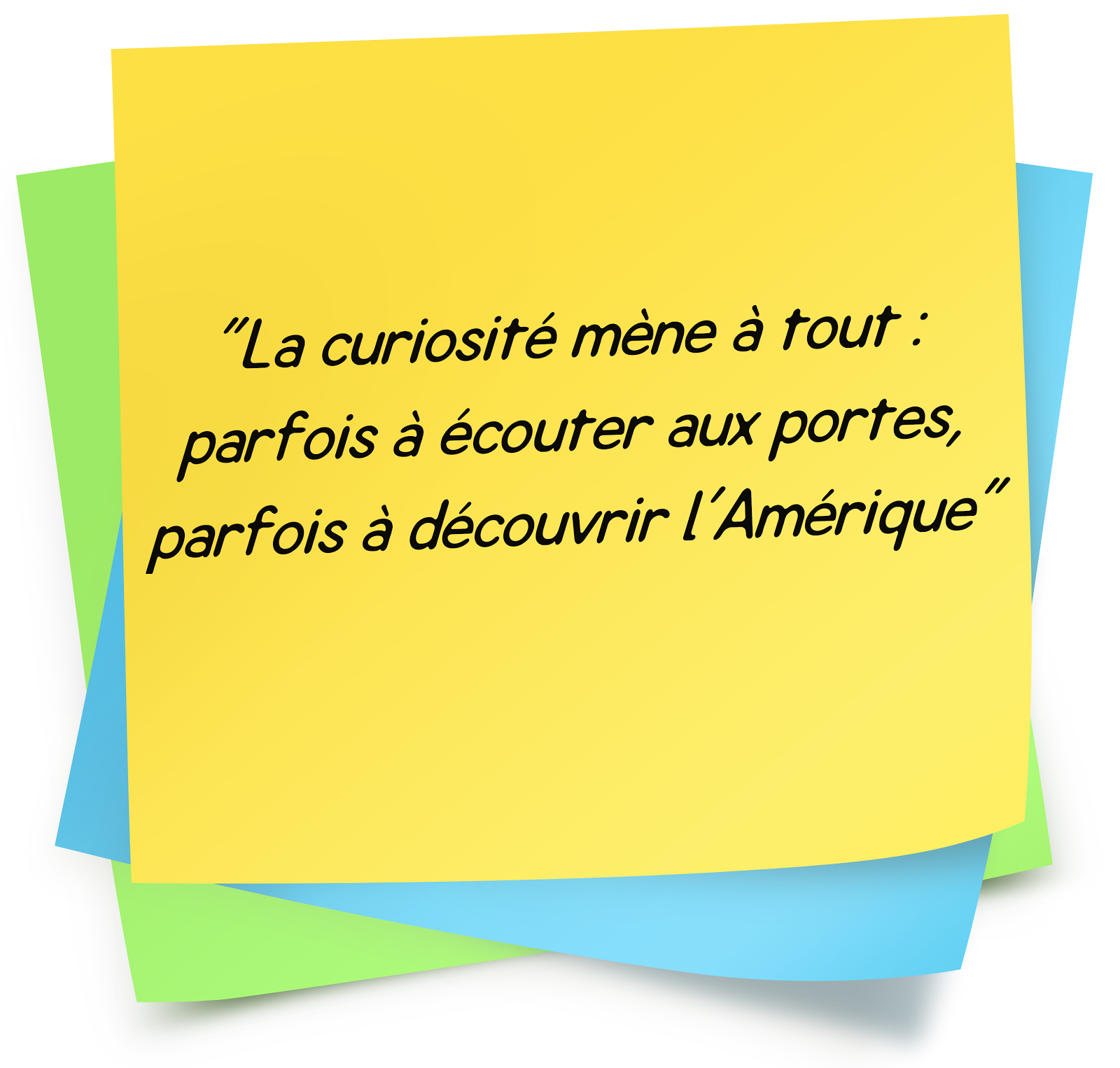 citation sur La curiosité