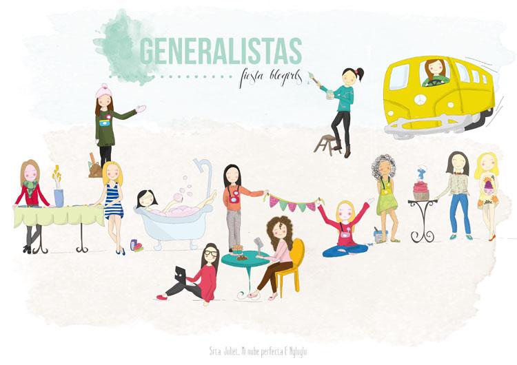 Generalistas - Fiesta Blogirls