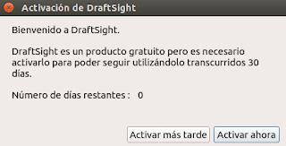 Activación de DraftSight