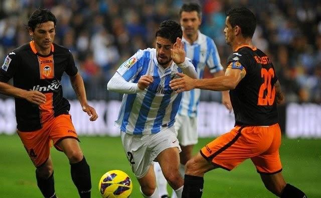 Valencia vs Malaga en vivo