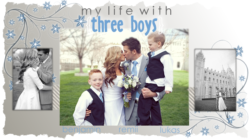 My Life With {three boys}