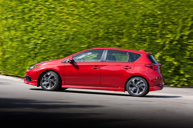 Side view of 2016 Scion iM