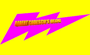 ROBERT CODESCU'S BLOG