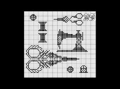 Good Life 2 Go Free Cross Stitch Chart Sewing Motif