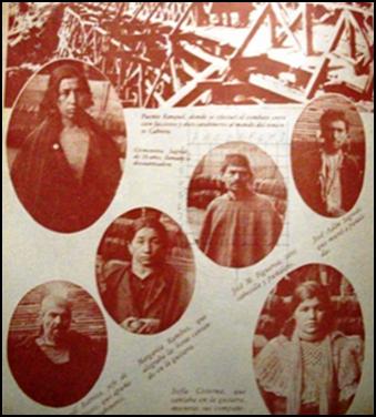 LA REBELION MAPUCHE DE RANQUIL, 1934