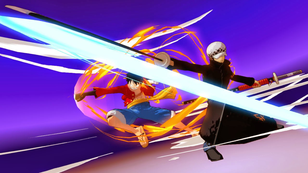 One Piece Unlimited World Red Coliseum Mode Luffy and Law Team