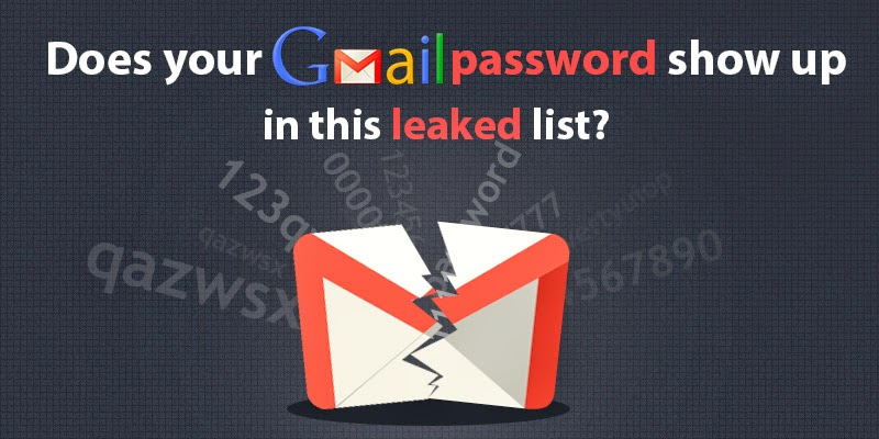 Check to see if Your Gmail Account is Leaked