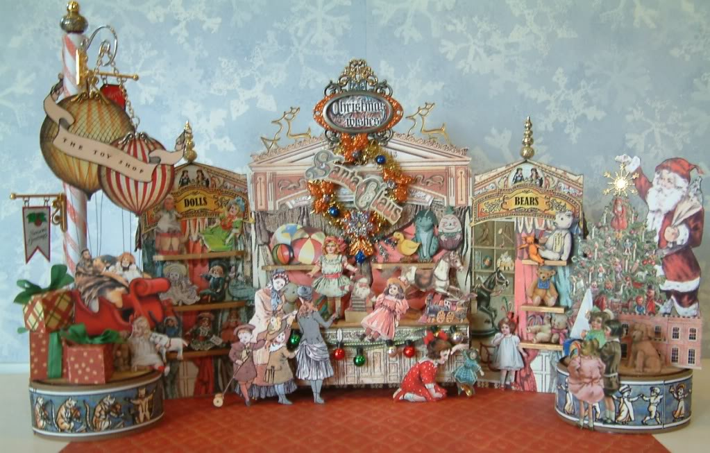 Christmas Toy Store : Gingersnap creations muse showcase laura carson