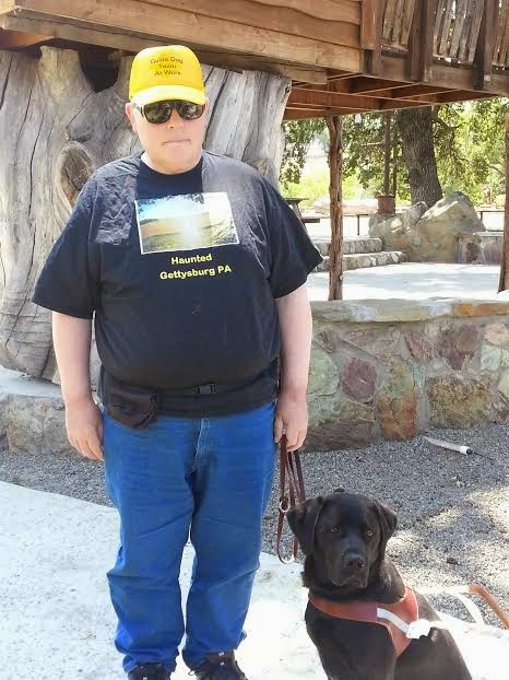 guide dog, parkfield, san andreas fault