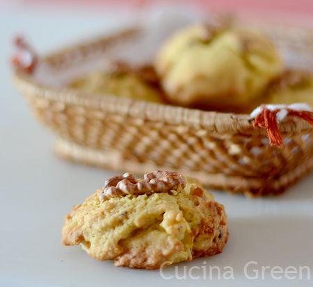 dolcetti noci e mela facili e veloci