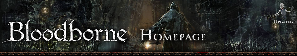 Bloodborne Blog Homepage