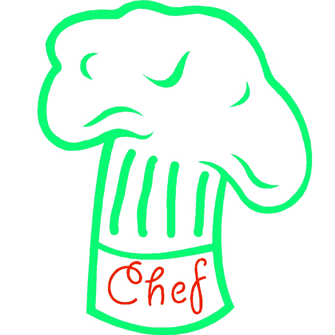 The  quot chef quot  hat insuring students get breakfast and lunch at school Pink Chef Hat Clip Art
