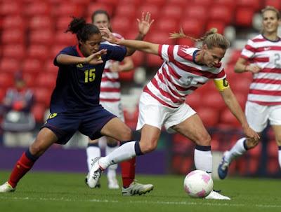 Cuartos de Final Fútbol Femenil Londres 2012