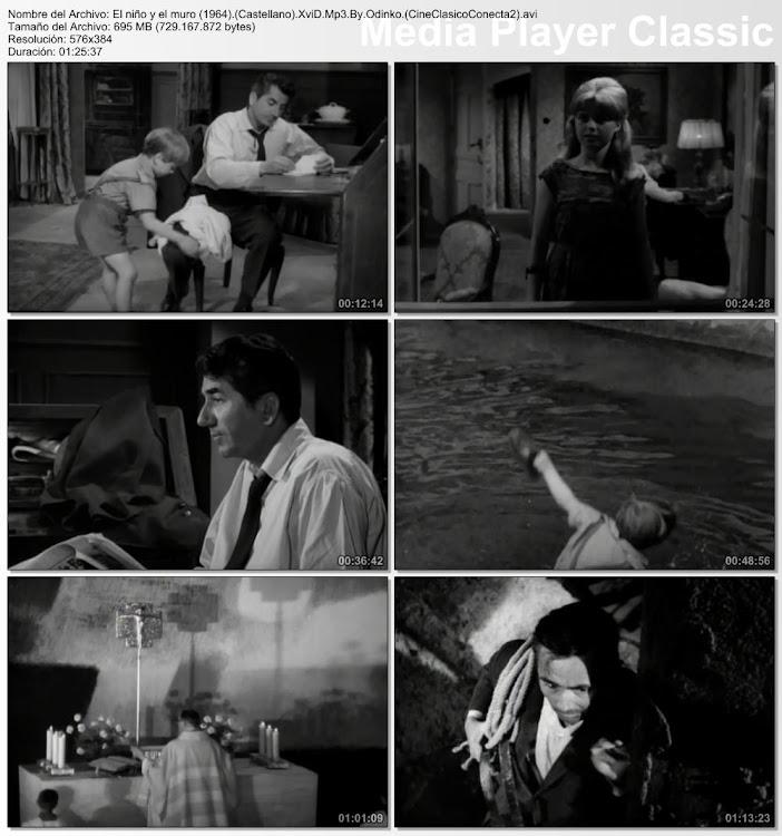 Imágenes de la película: El niño y el muro | 1965