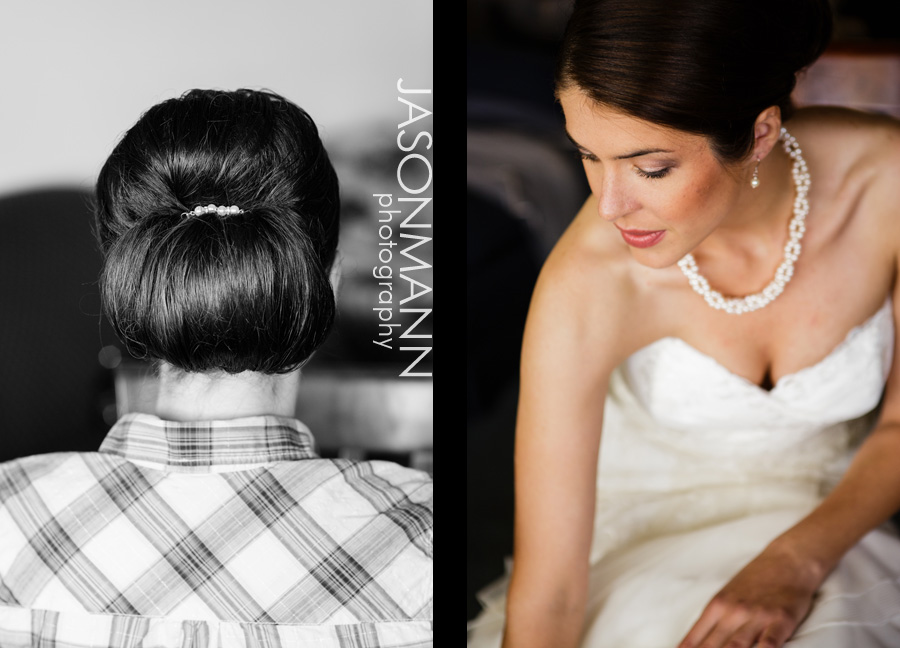 Jason Mann Photography - Door County Wedding Hair (Updo) and Makeup