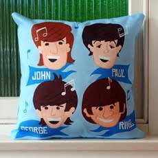 Fab Four Lads - Throw Pillow Case