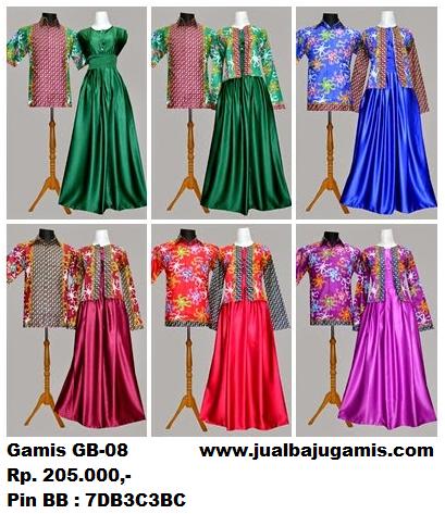 Gambar Gamis Batik