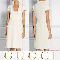 Queen Maxima Style GUCCI Dress