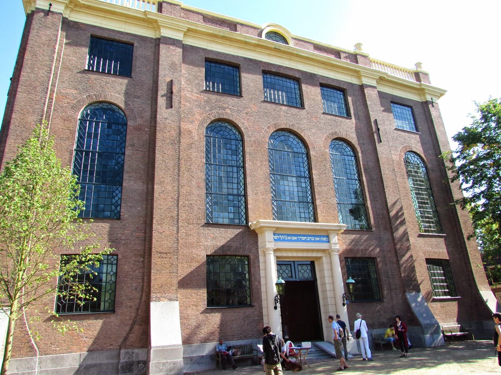 Monumentos de Amsterdam Sinagoga Portuguesa