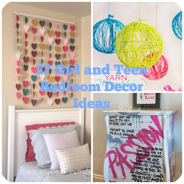 37 diy ideas for teenage girl s bedroom decor diy craft