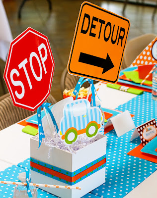 transportation party decoration ideas