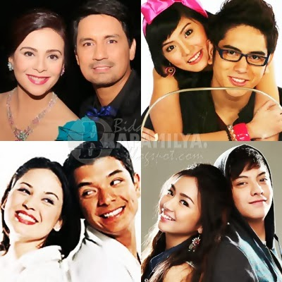 Most popular love teams in local showbiz list