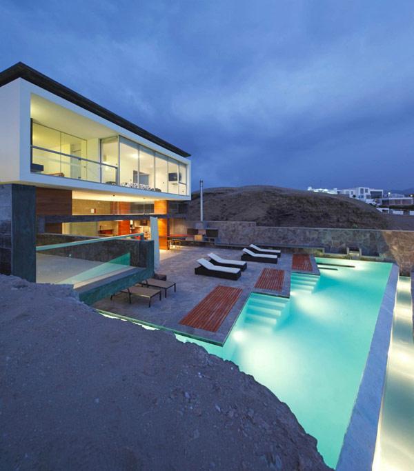 Hogares frescos 30 ideas de piscinas para tener su hogar for Alarme piscine home beach