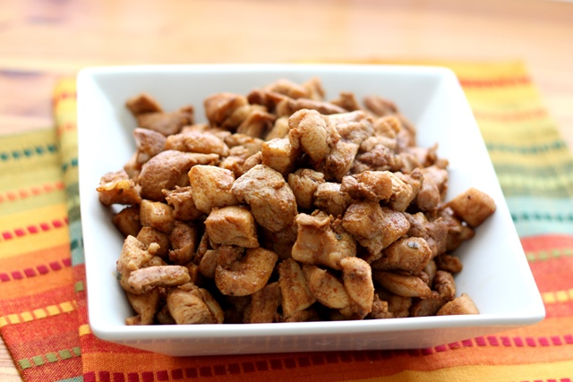 Southwest Chicken Bits recipe by Barefeet In The Kitchen