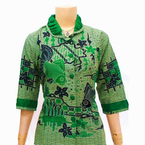 SR722 Grosir Baju Batik pasangan/Couple 2014