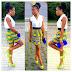 Lovely Ankara Short Skirt Design