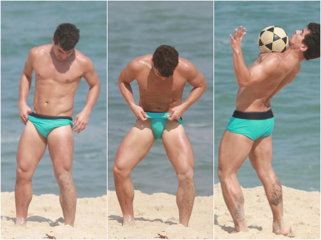 Thiago Martins de sunga