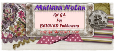 1st GA for beloved followers - mutiara nolan