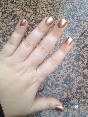 Nail of the Day: Revlon Copper Penny