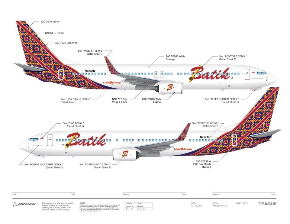 Aviation - Batik Air : premier vol international en 2014 : Actualités ...