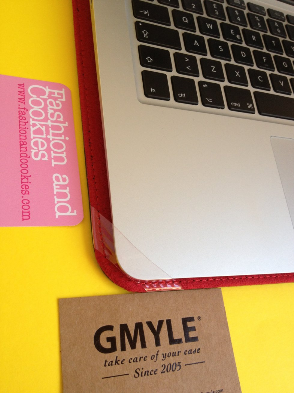 Gmyle leather folio 13 MacBook Air case review on Fashion and Cookies fashion blog