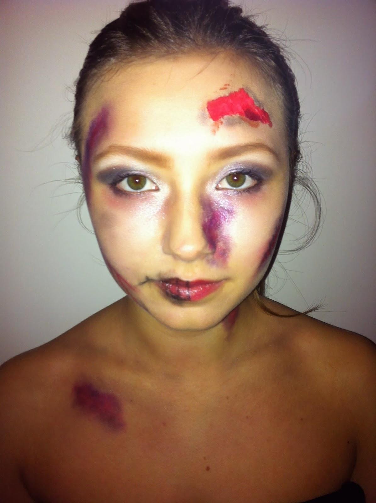 Beauty Is A Creation of Art: Halloween Makeup- Dead Girl