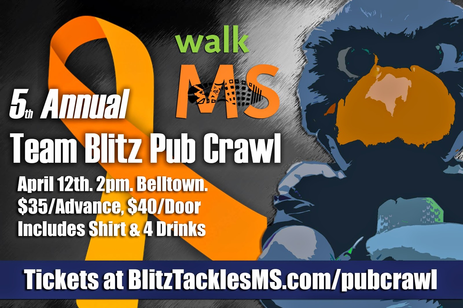 Team Blitz Tackles MS Pub Crawl 2014