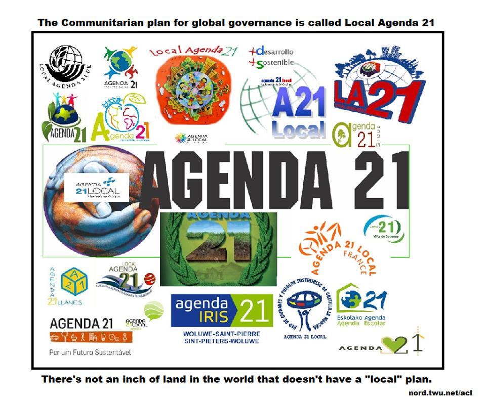 [ click pic ] Agenda 21 communitarianism ..