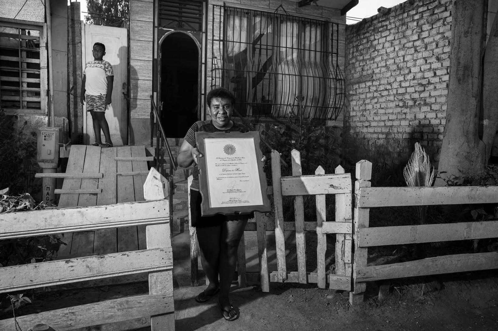 Patricia López Pazos, San Luis de Cañete. Archivo: Luis Miranda