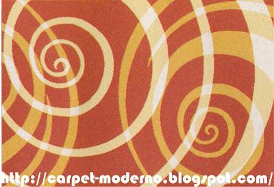 karpet Moderno 16-277 rust