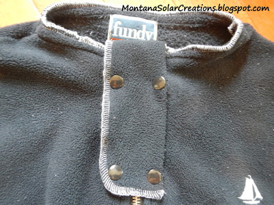 how to make a protective cover for a zipper on a baby sleep sack