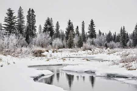 Pemandang Salju Terindah di Kanada