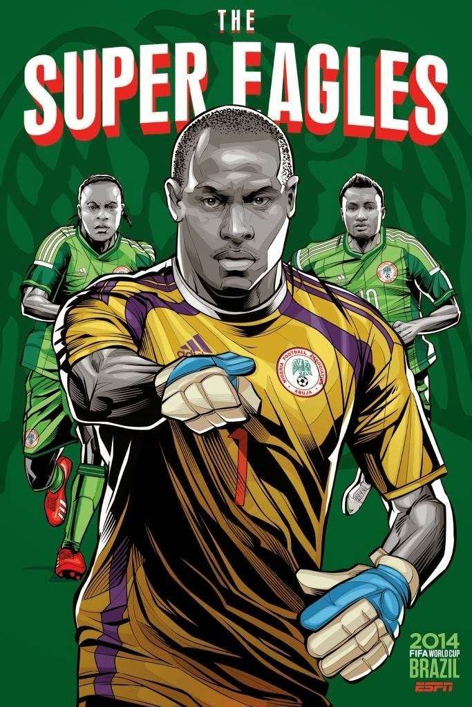 Nigeria Team FIFA 2014
