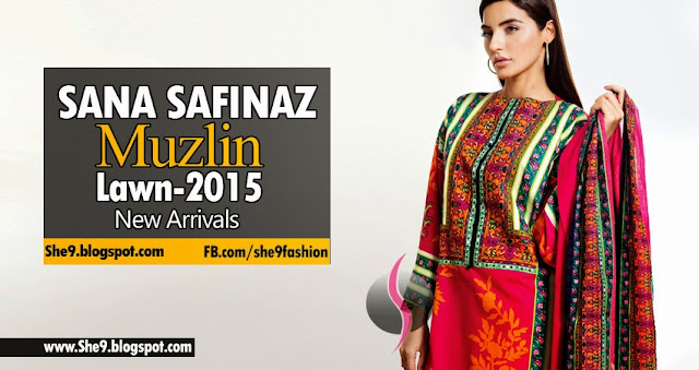 Sana Safinaz New Lawn Arrivals May 2015