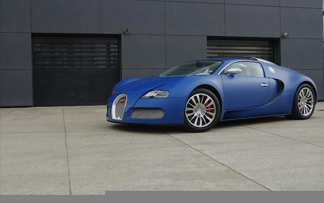 Bugatti Veyron Bleu Centenaire 2