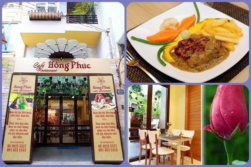 nha hang ngon, nha hang au, mon an au, mon ngon sai gon, Thưởng thức ẩm thực Âu chính thống tại nhà hàng Hồng Phúc