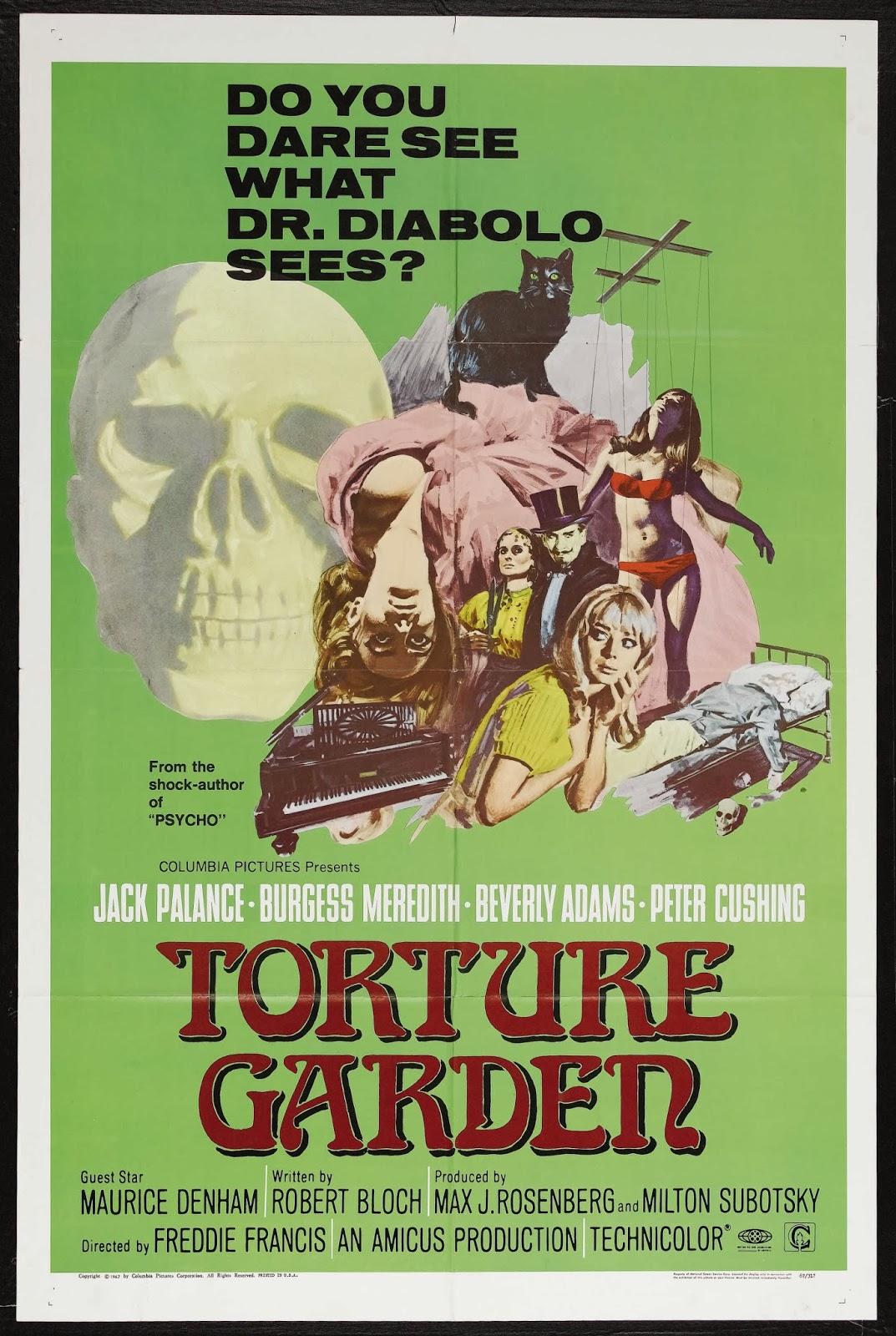 Shepperton Screams Part V Torture Garden 1967